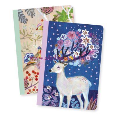 Jegyzetfüzet 2 db A/6 - Martyna little notebooks - Djeco - Lovely Paper
