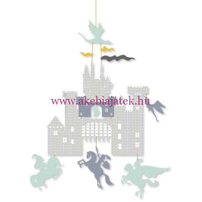 Mini mobil - Castle and dragons - Várkastély sárkonyokkal, ARTHUR - Little BIG room by Djeco
