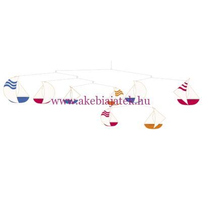 Függődísz - Sailboats - Vitorlások, MARIN - Little BIG room by Djeco