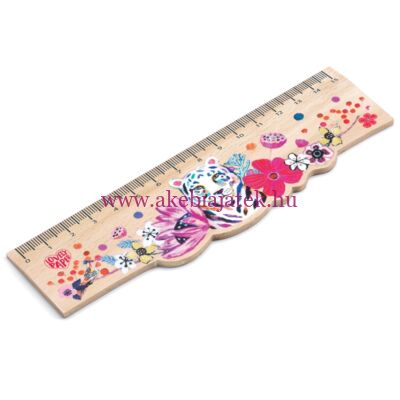 Vonalzó fából - Martyna Wooden Ruler by Djeco - Lovely Paper
