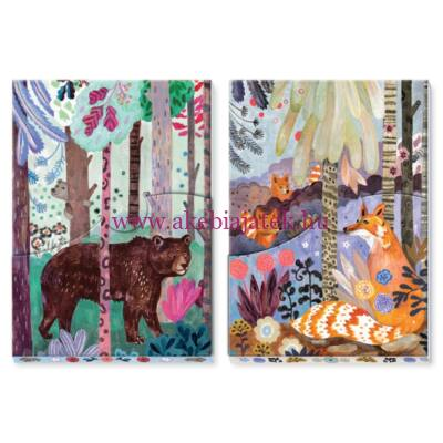 Jegyzettömb 2 db - Martyna notepads - Djeco - Lovely Paper