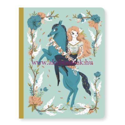 Jegyzetfüzet A/5 - Lucille notebook - Djeco - Lovely Paper