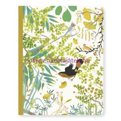 Jegyzetfüzet A/5 - Tinou notebook - Djeco - Lovely Paper
