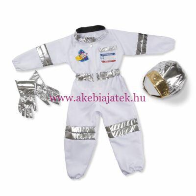 Űrhajós jelmez szett, Astronaut Role Play Costume Set - Melissa & Dough