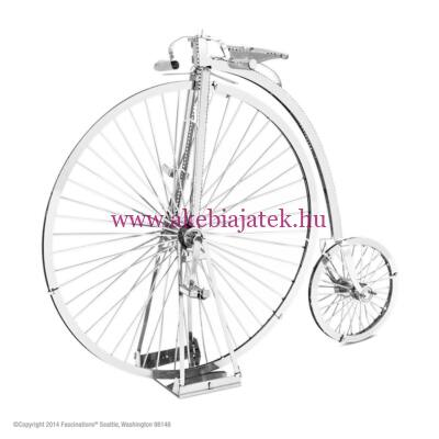 Penny Farthing bicikli logikai kirakó építő - Metal Earth
