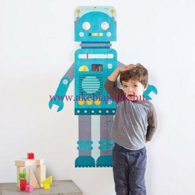 Magasságmérő, ROBOT - Blue robot - Petit Collage