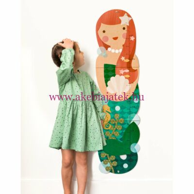 Magasságmérő, HABLEÁNY - Little miss mermaid - Petit Collage