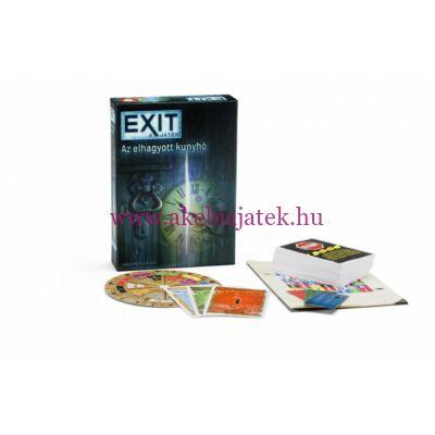 Exit 1. Elhagyott kunyhó szabaduló-szoba játék - Piatnik