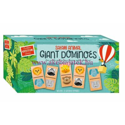 Giant Dominoes, nagyméretű dominó fából - Professor Puzzle