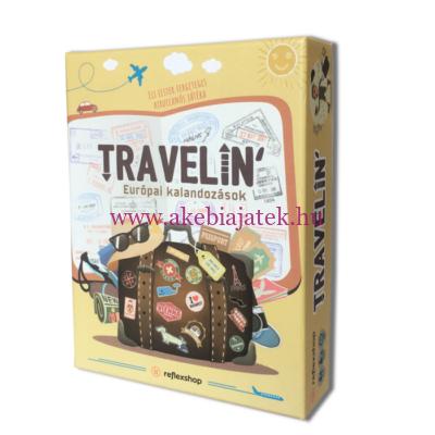 Travelin, Európai kalandozások társasjáték - Mind Fitness Games