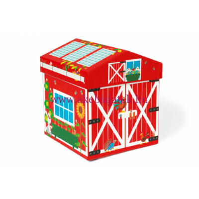 Mix+Play Játék Box FARM, Play Box Farm 2in1 - Scratch Europe