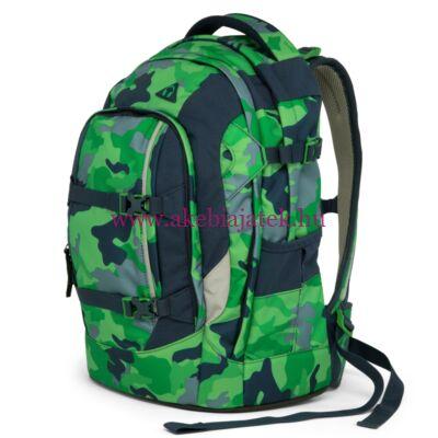 Satch Pack iskolatáska, hátizsák - Green Camou - Satch