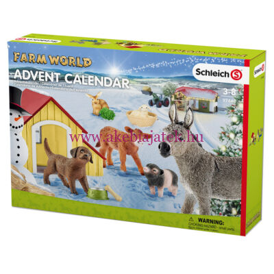 Farm 2017 adventi naptár - Schleich