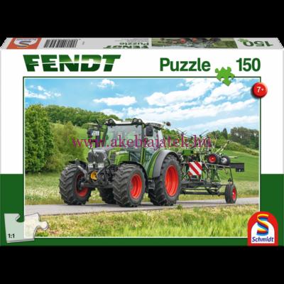 Mezőgazdasági gépes kirakó 150db, Fendt - Schmidt Spiele