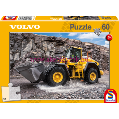 Volvo L150H puzzle, kirakó 60db - Schmidt Spiele