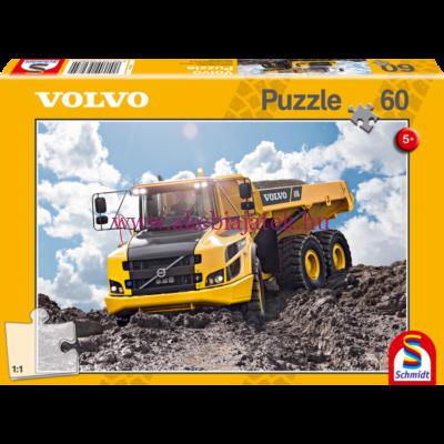 Volvo A30G puzzle, kirakó 60db - Schmidt Spiele