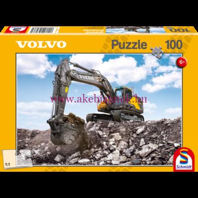 Volvo EC380E puzzle, kirakó 100db - Schmidt Spiele