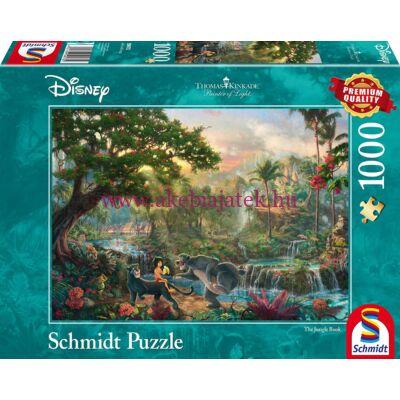 Dzsungel könyve 1000 db-os puzzle, kirakó - Thomas Kinkade - Schmidt Spiele