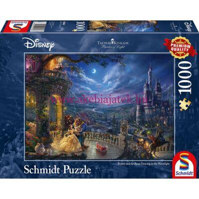 Szépség és a Szörnyeteg 1000 db-os puzzle, kirakó - Thomas Kinkade - Schmidt Spiele