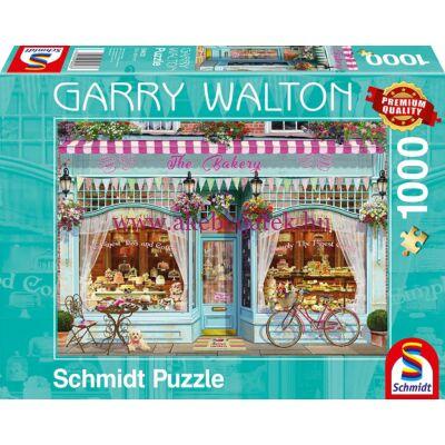 Cukrászda, pékség 1000 db-os puzzle, kirakó - Garry Walton - Schmidt Spiele