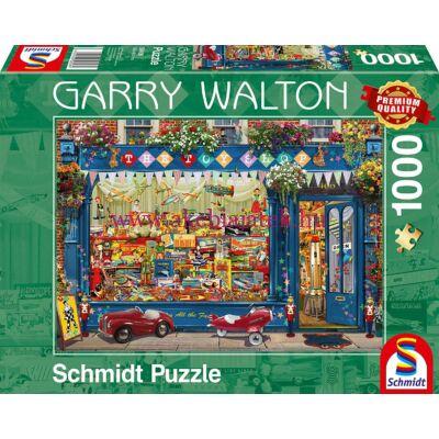 Játék bolt 1000 db-os puzzle, kirakó - Garry Walton - Schmidt Spiele