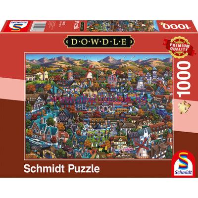 Solvang 1000 db-os puzzle, kirakó - Dowdle - Schmidt Spiele