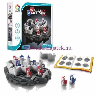 Erőd, logikai játék 8 éves kortól - Walls & Warriors - SmartGames