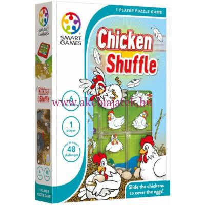 Tojó Toló, Chicken Shuffle készségfejlesztő, logikai játék 6 éves kortól - Smart Games