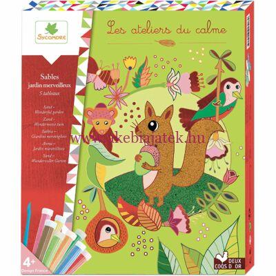 Homokkép készítés, Csodálatos Kert - Sand Wonderful garden - Sycomore
