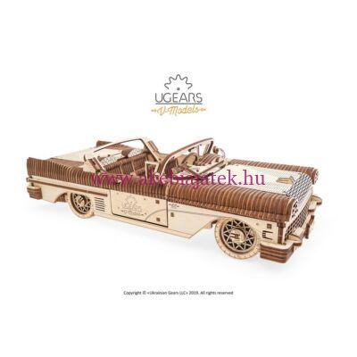 Cabrio mechanikus modell, Dream Cabriolet VM-05 - UGEARS