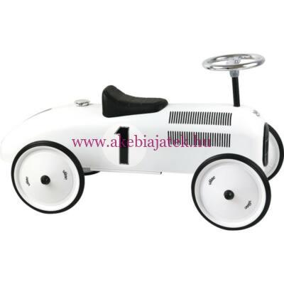 OldtimeOldtimer lábbal hajtható fém autó, Polar white Classic Car 3 éves kortól - Vilacr lábbal hajtható fém autó, Cream Rice on Classic Car 3 éves kortól - Vilac