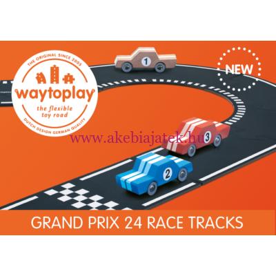 Waytoplay rugalmas autópálya 24 db, GRAND PRIX - Waytoplay