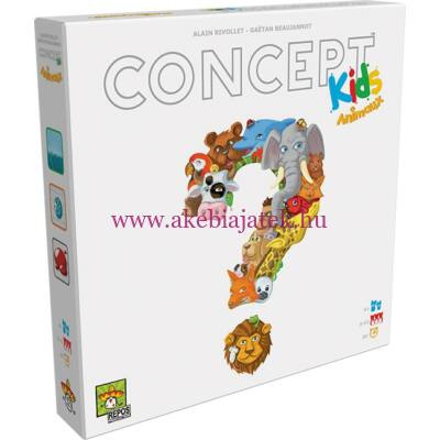 Concept Kids, kommunikációs-asszociációs partijáték 4 éves kortól - Asmodee