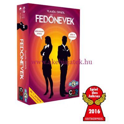 Fedőnevek, asszociációs társasjáték 14 éves kortól - Czech Games Edition