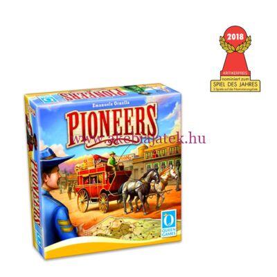 Pioneers, taktikai társasjáték 8 éves kortól