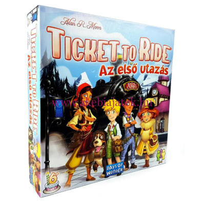Ticket to Ride, az első utazás - Days of Wonder